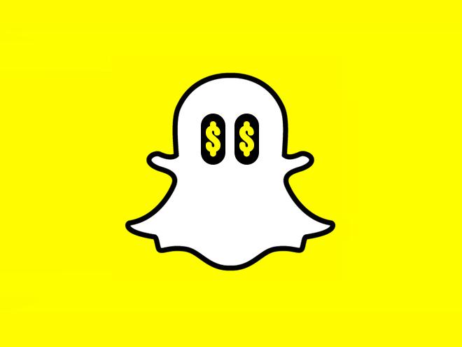 Snapchat revenues