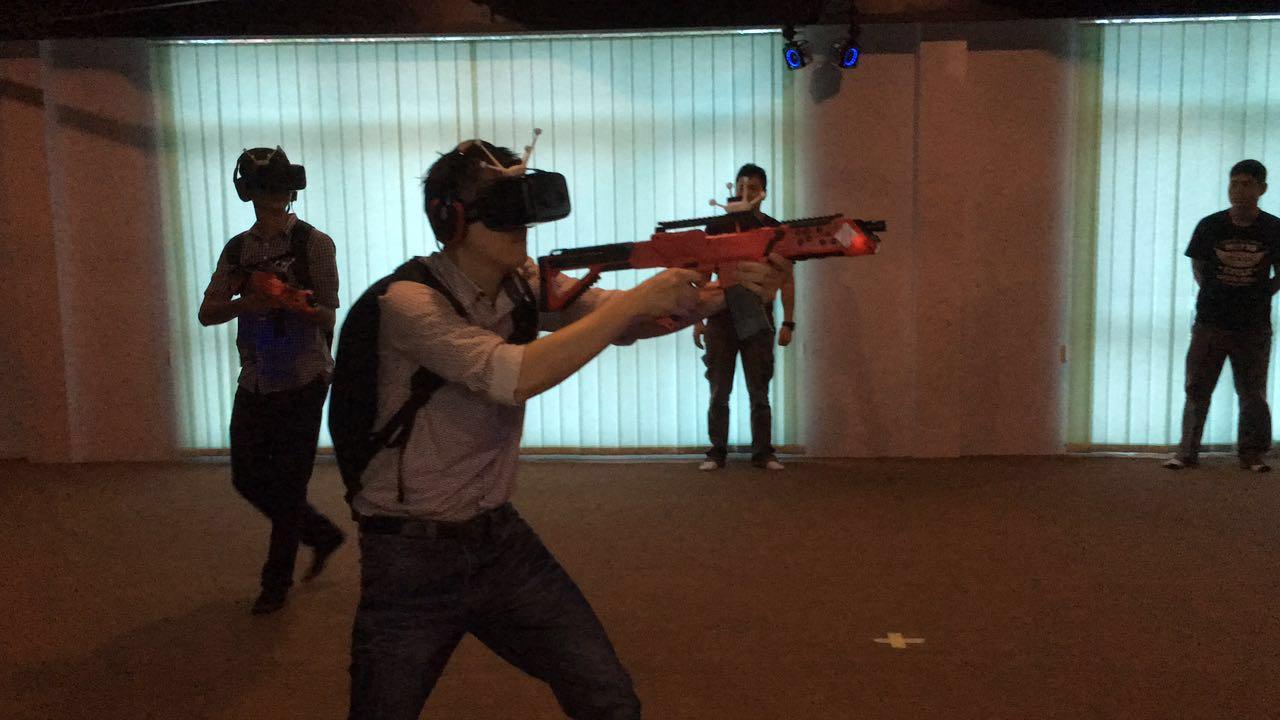 EXA Virtual Reality Theme Park