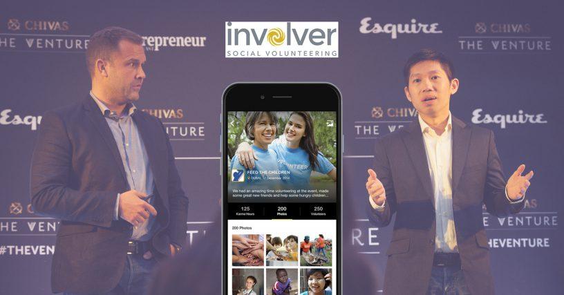 Involver social volunteering startup