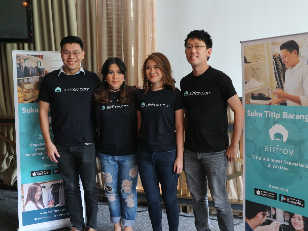 Airfrov, a Singaporean online shopping app connecting buyers with travelers enters Indonesia