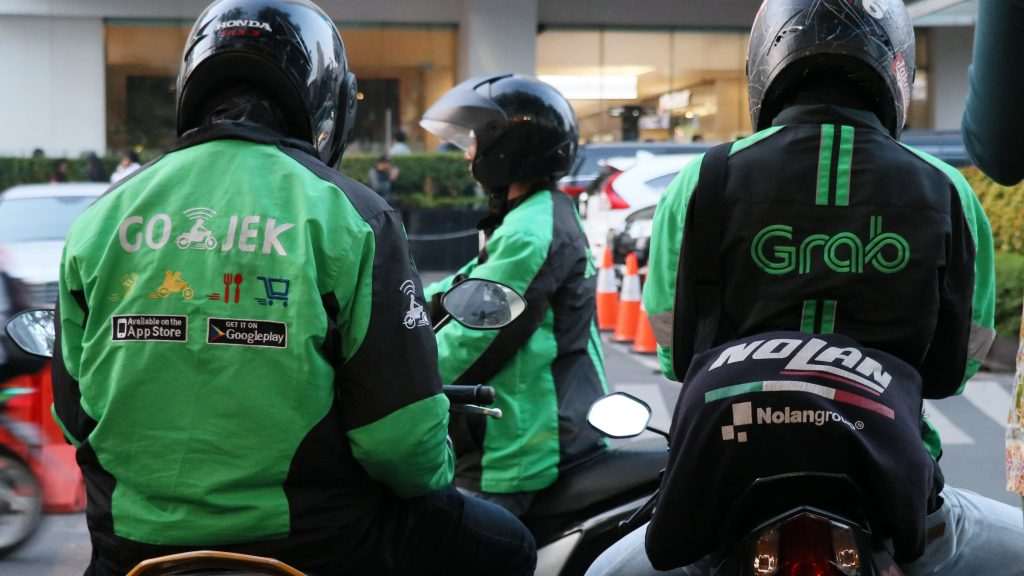 Go-Jek and Grab