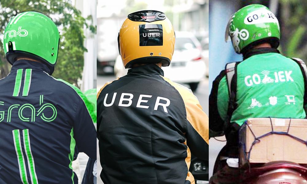 Ride-hailing: Uber, Grab, and Go-Jek