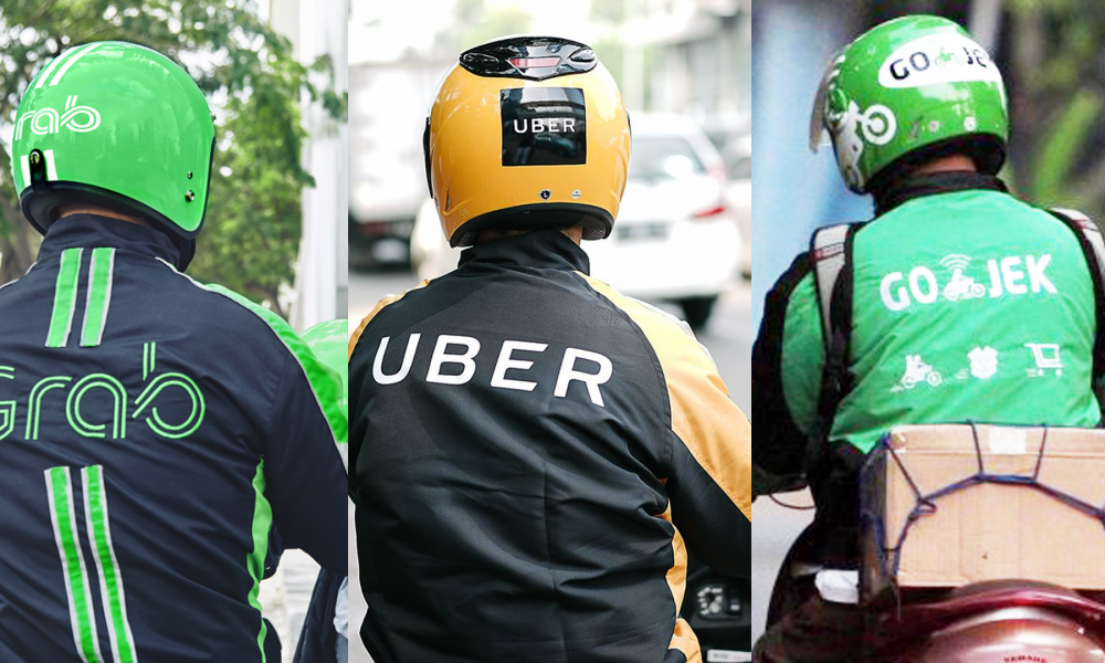 Ride-hailing: Uber, Grab, and Go-Jek
