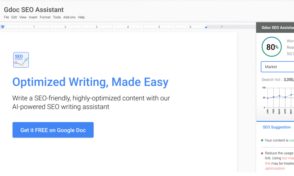 New Google Docs SEO Add-On Helps Content Writers Become SEO